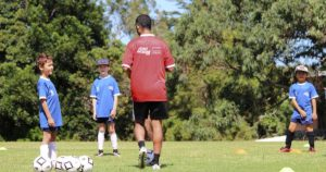 Coaching Soccer Players