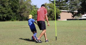 Coaching good football players
