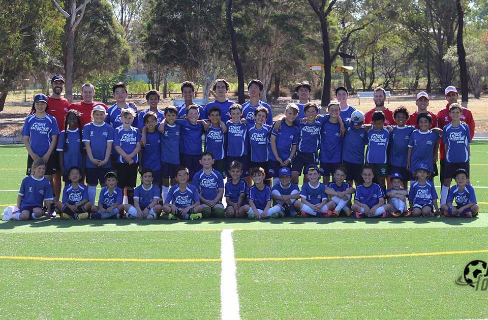 Spring Soccer Camp Group Photo