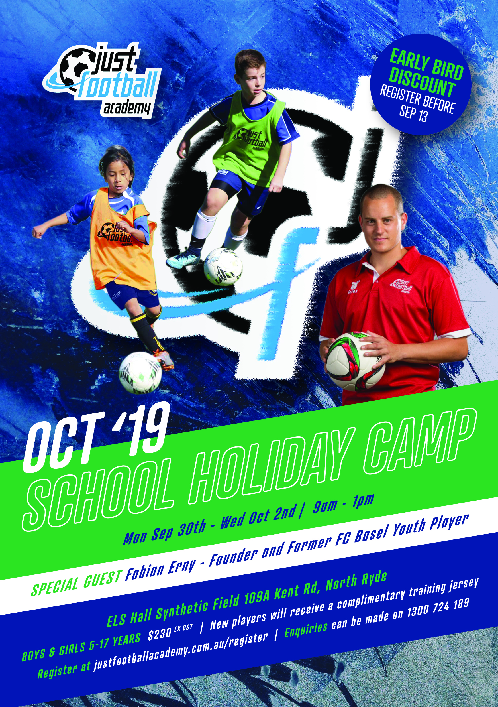 Football School Holiday Camp